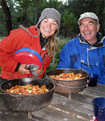dutch oven camp cookingHOME Food, Glorious Food! sea kayaking san juan island