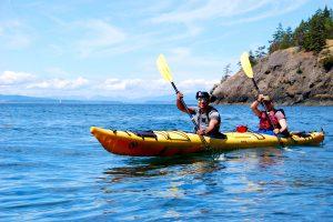 Day-trip Kayakers