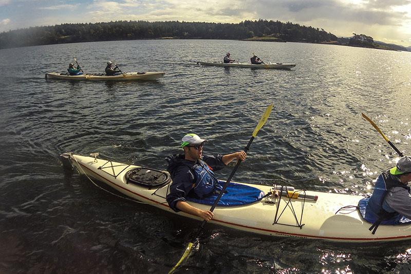 Sea Kayak Tour Group