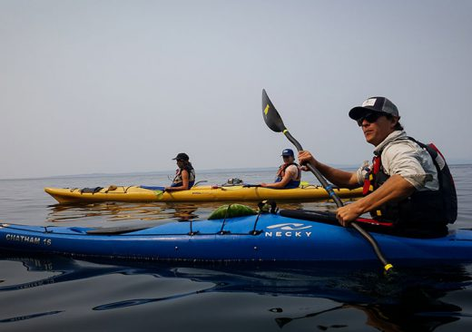 Sea kayaking tour by Outdoor Odysseys