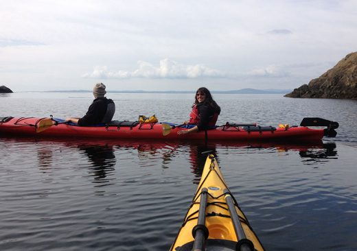 Sea kayaking in Washington State